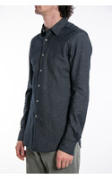 7d Overhemd / Flannel Stripe / Navy
