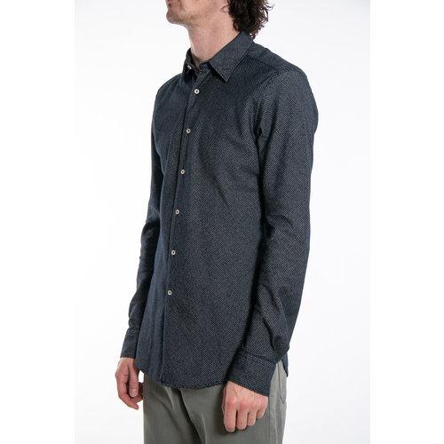 7d 7d Shirt / Flannel Stripe / Navy