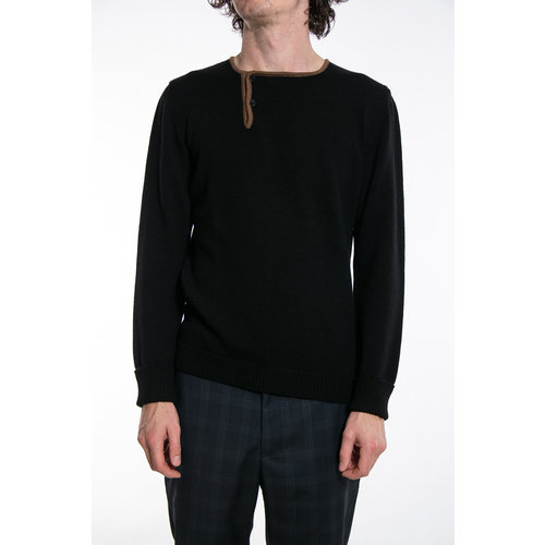 G.R.P. Firenze G.R.P. Sweater / Max 1 Bis / Black Brown