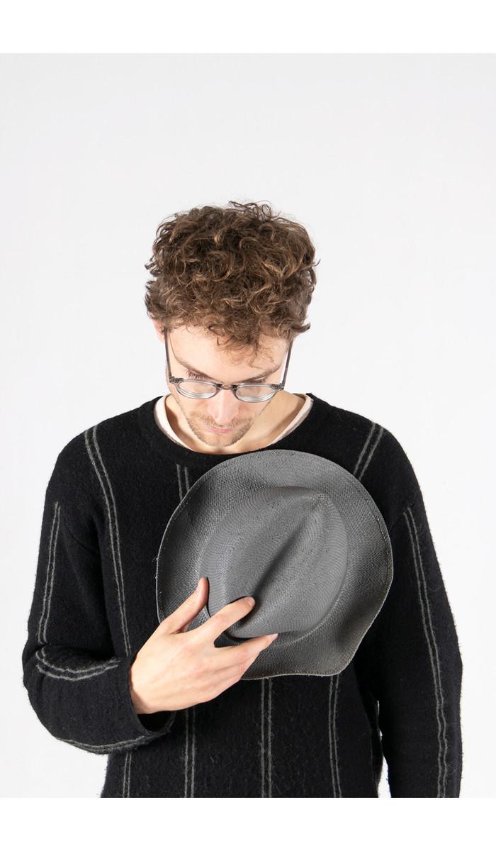 Reinhard Plank Hoed / Straatartiest / Grijs