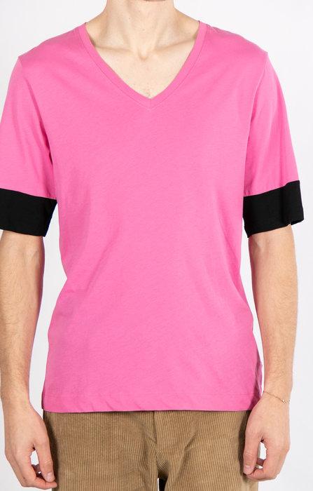Dries van Noten Dries van Noten T-Shirt / V-Hals / Roze