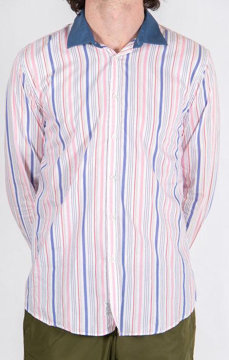 Alessandro Gherardeschi Shirt / Funny Stripe / Pink