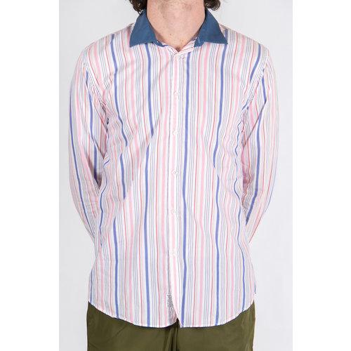 Alessandro Gherardeschi Alessandro Gherardeschi Overhemd / Funny Stripe / Roze
