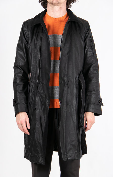 Gian Carlo Rossi Coat / Corps Parka / Black