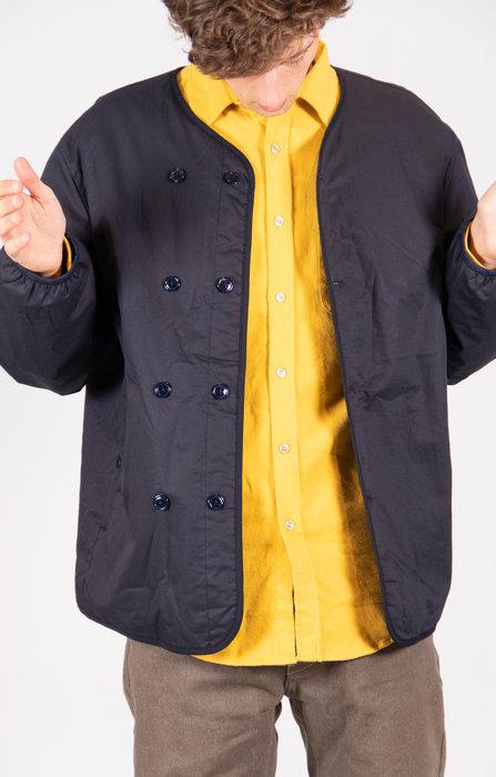 Nanamica Coat / Down Cardigan / Dark Navy