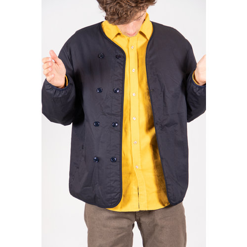 Nanamica Jas / Down Cardigan / Dark Navy