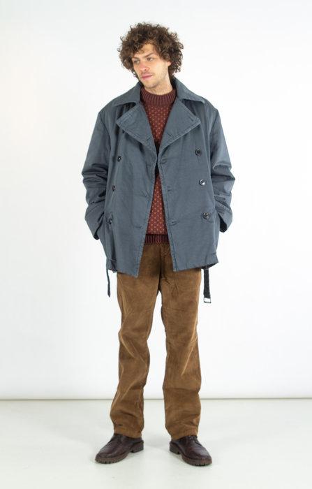 Dries van Noten Dries van Noten Coat / Robert Short / Grey
