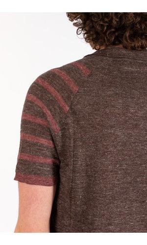 Roberto Collina Roberto Collina Polo Shirt / RE40024 / Red Brown