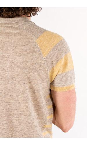 Roberto Collina Roberto Collina Polo Shirt / RE40024 / Wheat