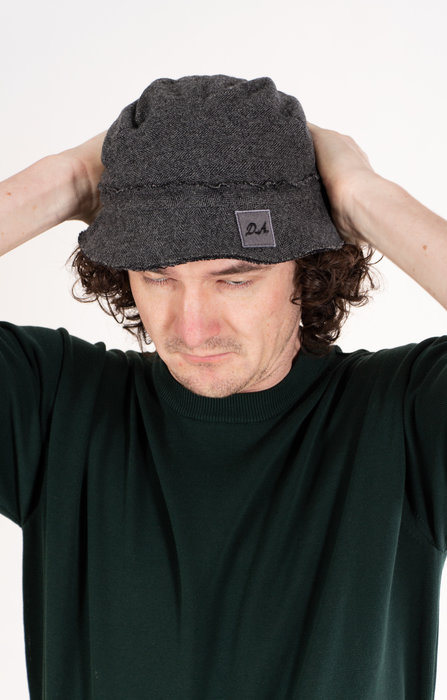 Daniele Alessandrini Hat / Vissengraat / Grey
