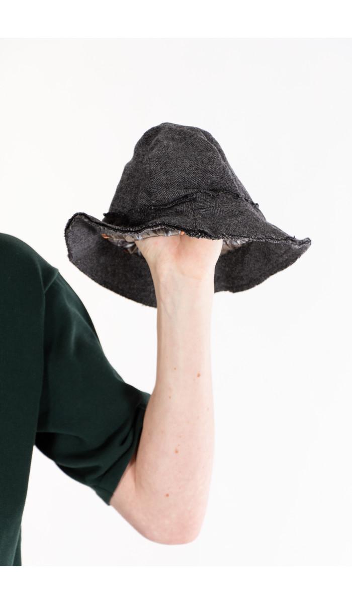 Daniele Alessandrini Daniele Alessandrini Hat / Vissengraat / Grey