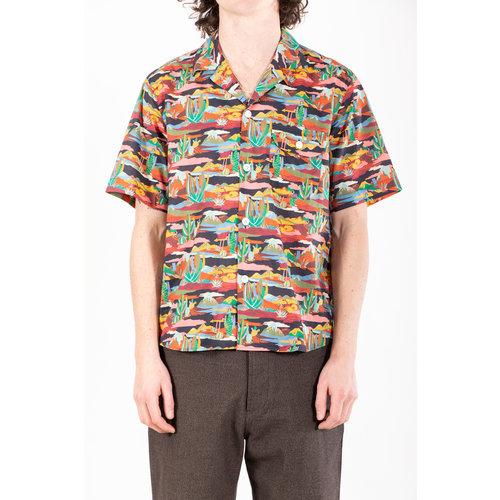 Delikatessen Delikatessen Overhemd / Short Sleeve / Liberty Nirvana