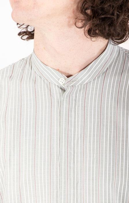 Delikatessen Delikatessen Shirt / Zen Shirt / Green Stripe
