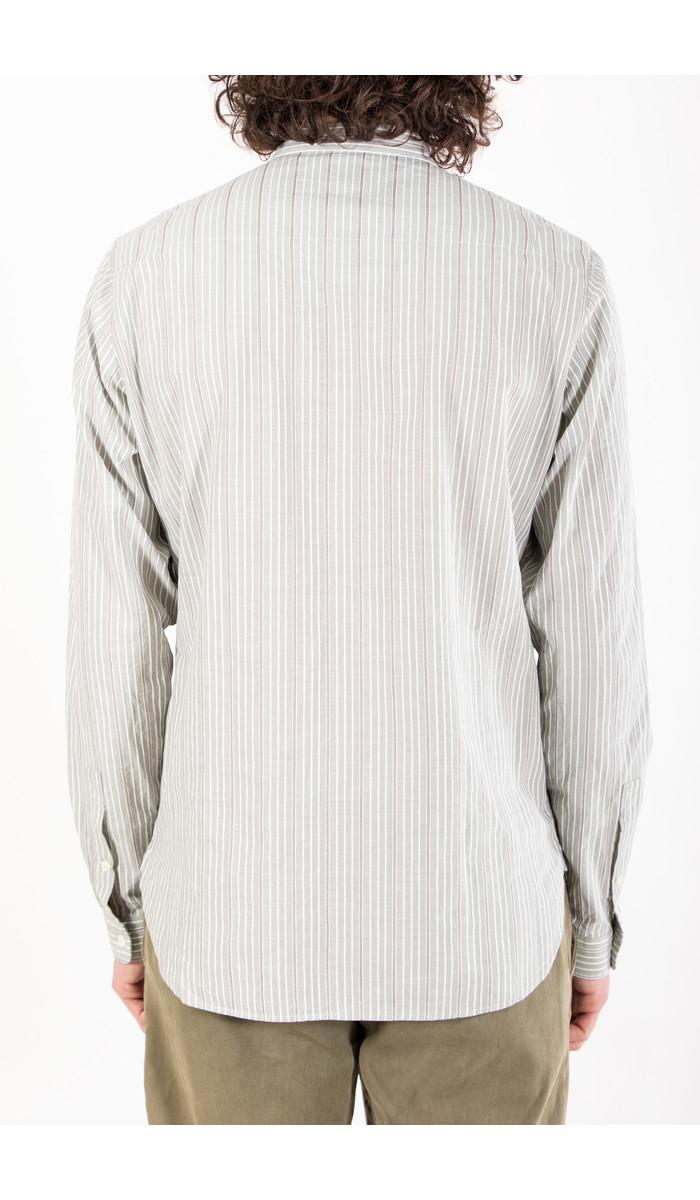 Delikatessen Delikatessen Overhemd / Zen Shirt / Groen Streep