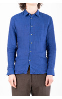 Delikatessen Shirt / Feel good / Cobalt Blue
