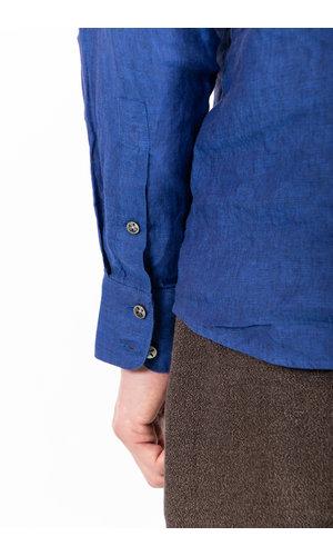 Delikatessen Delikatessen Shirt / Feel Good / Cobalt Blue
