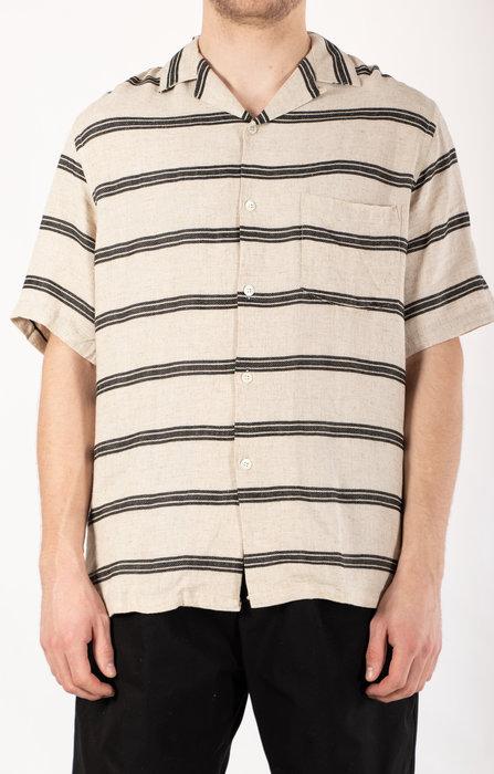 Portuguese Flannel Portuguese Flannel Overhemd / San Francisco / Zwart