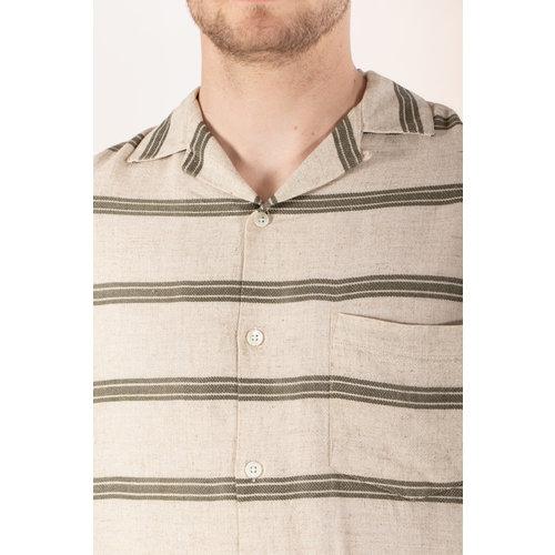 Portuguese Flannel Portuguese Flannel Overhemd / San Francisco / Olijf