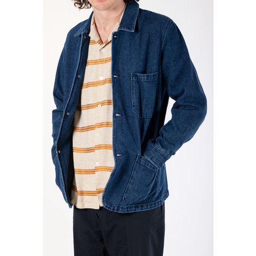 Portuguese Flannel Portuguese Flannel Jack / Labura Denim / Indigo
