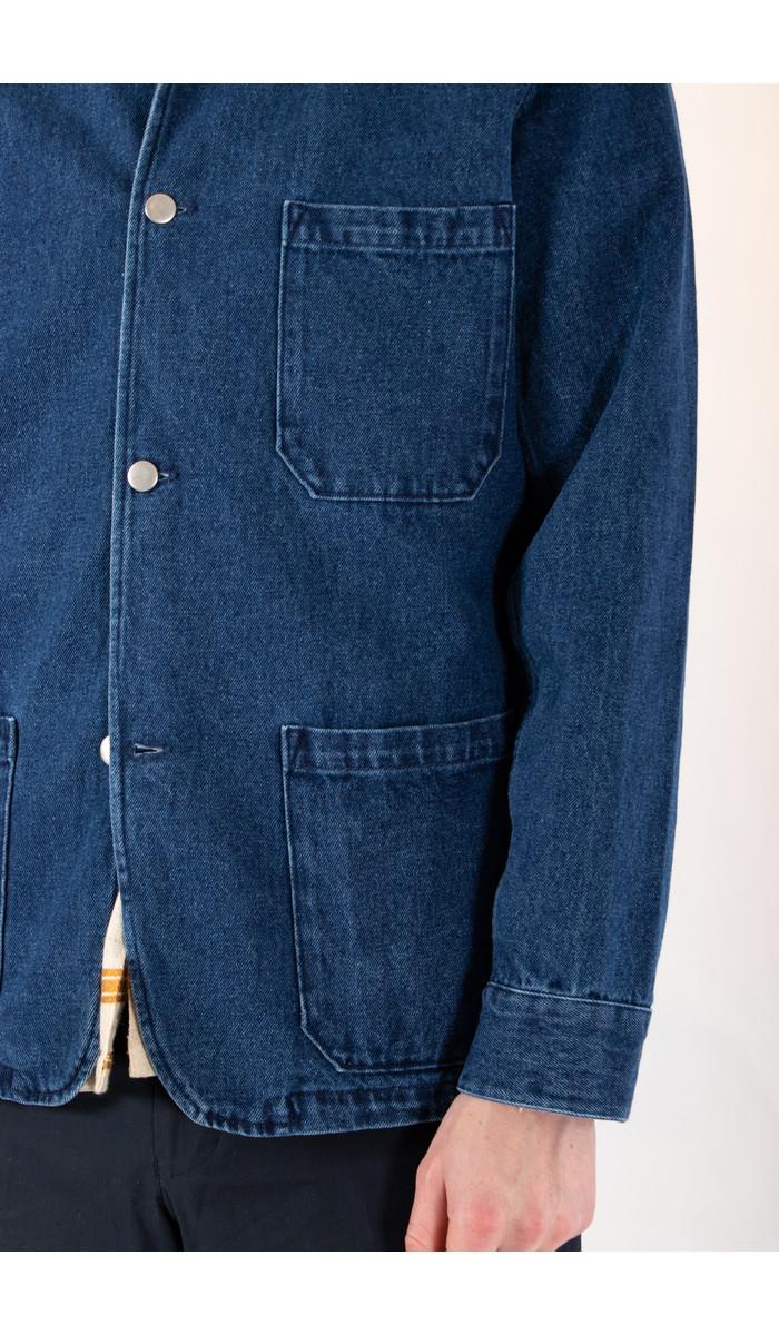 Portuguese Flannel Portuguese Flannel Jacket / Labura Denim / Indigo