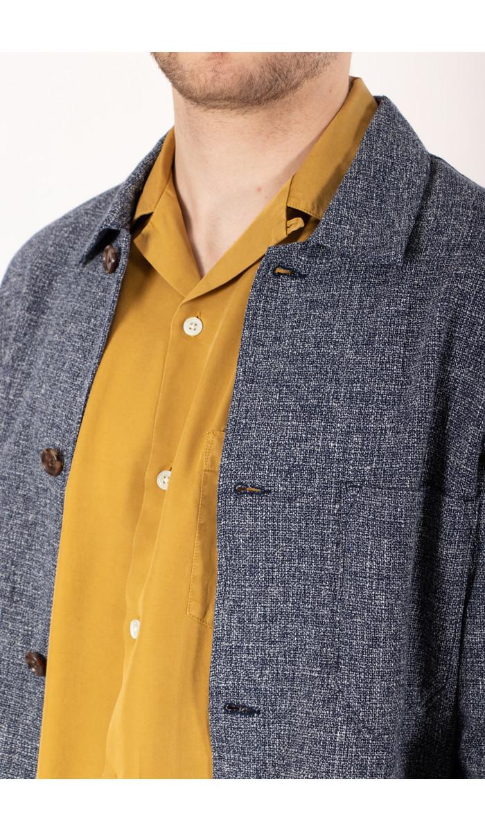 Portuguese Flannel Portuguese Flannel Jack / Labura Raw / Blauw