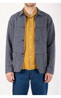 Portuguese Flannel Jacket / Labura Raw / Blue