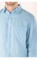 Portuguese Flannel Overhemd / Linen / Sky