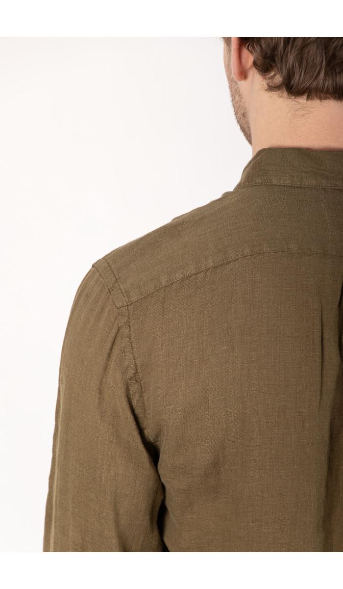 Portuguese Flannel Portuguese Flannel Shirt / Linen / Olive