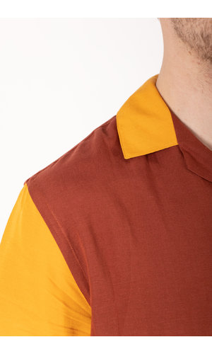 Portuguese Flannel Portuguese Flannel Overhemd / Dinner / Rood