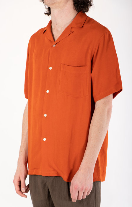 Portuguese Flannel Portuguese Flannel Overhemd / Catown / Oranje