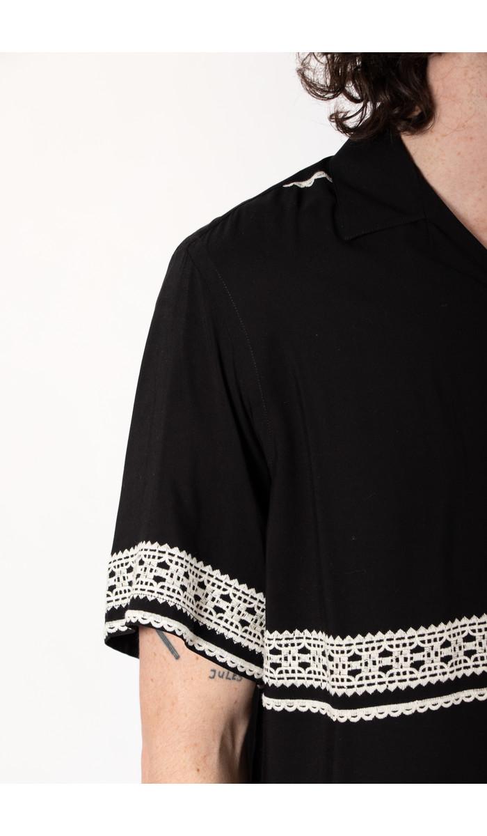 Portuguese Flannel Protuguese Flannel Shirt / Folclore 1 / Black