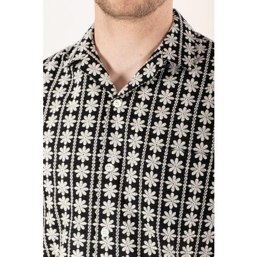 Portuguese Flannel Portuguese Flannel Overhemd / Folclore 2 / Zwart