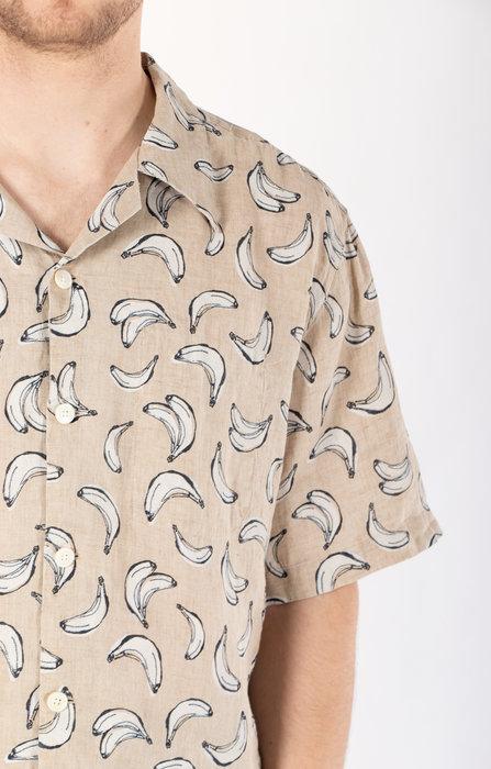 Delikatessen Delikatessen Shirt / Short Sleeve / Banana
