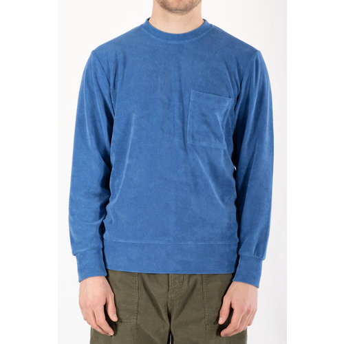 Universal Works Universal Works Trui / Loose Pullover / Blauw