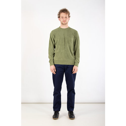 Universal Works Universal Works Sweater / Loose Pullover / L. Green