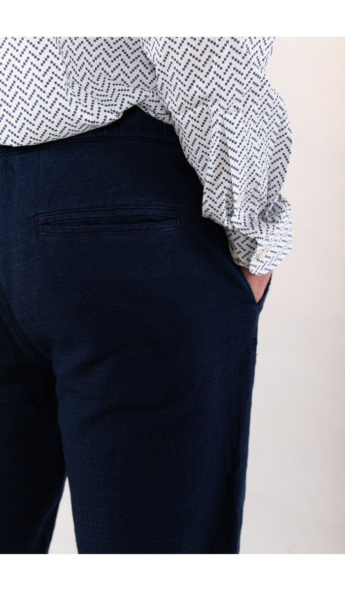 Homecore Homecore Trousers / Draw Star / Indigo