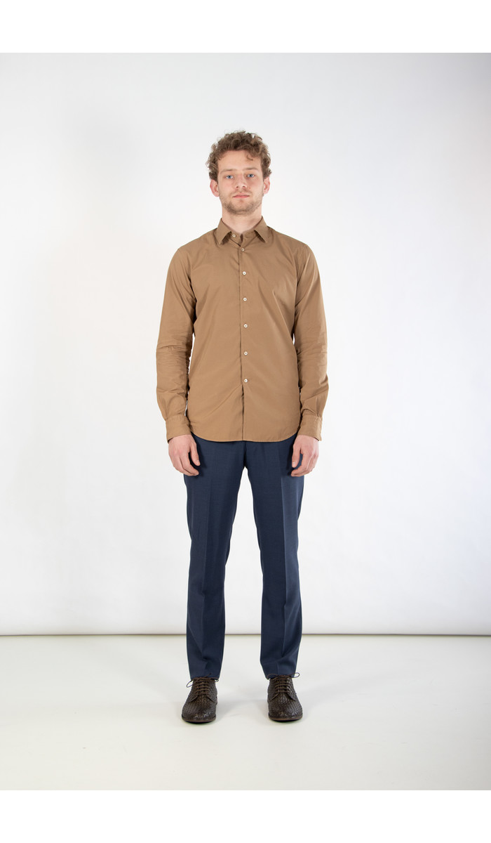 7d 7d Overhemd / Fourty-Four / Kameel