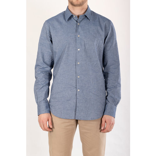 7d 7d Overhemd / Fourty-Four / Blauw Chambray