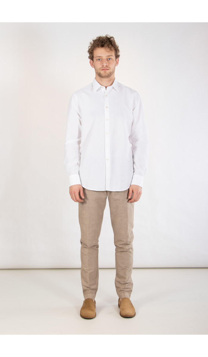 7d 7d Shirt / Fourty-Four / Jacquard Offwhite