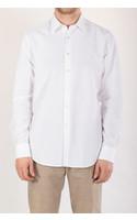 7d Overhemd / Fourty-Four / Jacquard Wit