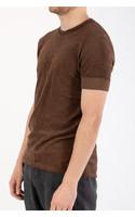 Hannes Roether T-Shirt / Piaf / Bruin