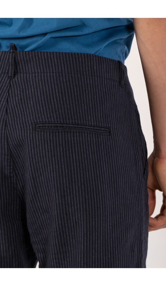 Hannes Roether Hannes Roether Trousers / Barbe / Blue Stripe