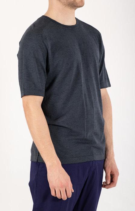 Transit Transit T-Shirt / CFUTRN10450 / Blauw