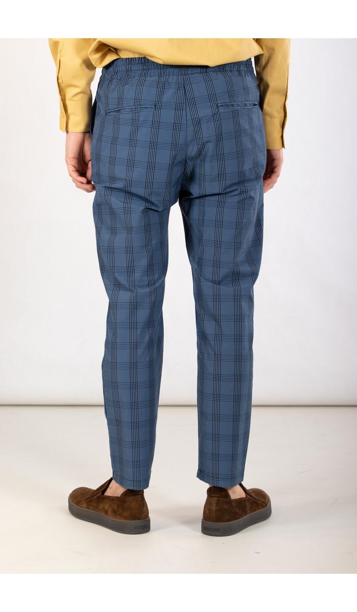 Yoost Yoost Broek / Mr. Smart Pant / Blauw Ruit