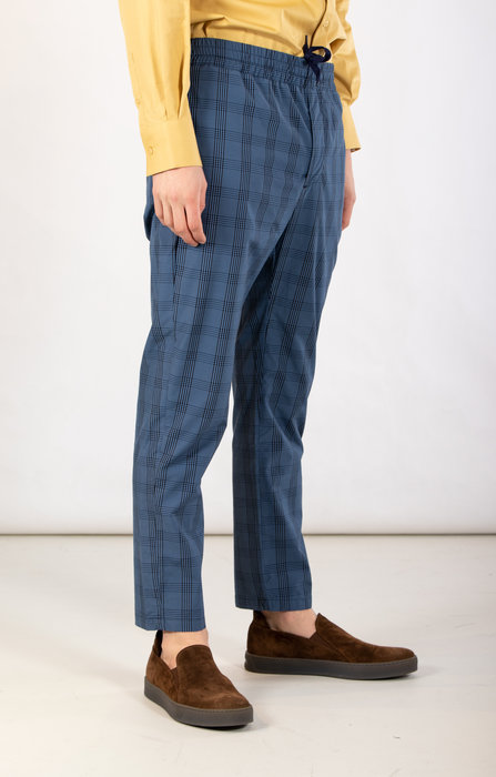 Yoost Yoost Trousers  / Smart Pant / Blue Check