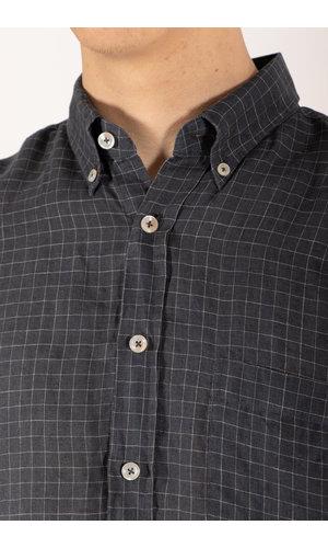 Xacus Overhemd / 81322 / Donkergrijs