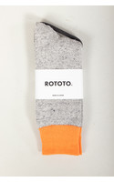 RoToTo Sock / Double Face / Orange
