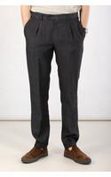 British House Trousers / Winston / Grayish Black