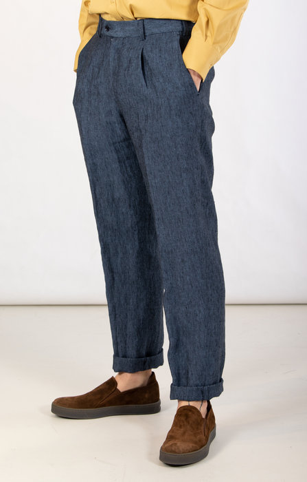 British House Trousers / Winston / Blue