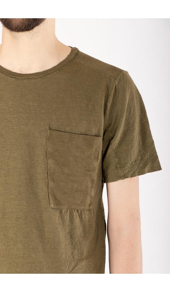 Transit Transit T-Shirt / CFUTRN4391 / Groen